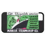 Compañía 1930 de buque de vapor de Manila iPhone 5 Case-Mate Protectores