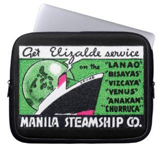 Compañía 1930 de buque de vapor de Manila Mangas Portátiles