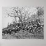 Compañía C, 3ro infantería de los E.E.U.U. en Fort Posters