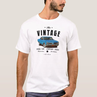 Compañía de automóviles del vintage GTO y logotipo Playera