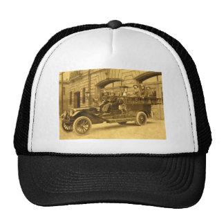 Compañía de bomberos del vintage de no. 34 del mot gorras