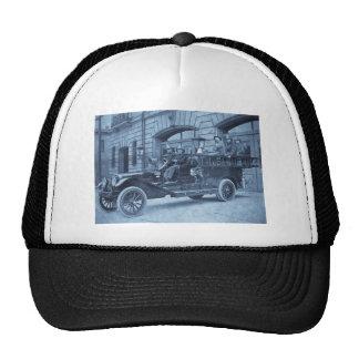 Compañía de bomberos del vintage de no. 34 del mot gorro de camionero