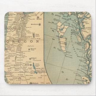 Compañía de buque de vapor de la Costa del Pacífic Tapetes De Raton
