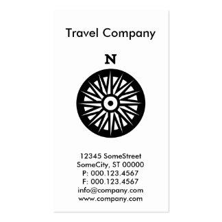 compañía de encargo del viaje tarjetas de visita
