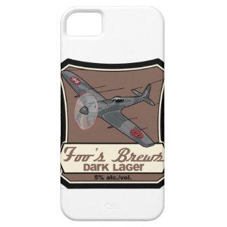 Compañía de la cerveza de la falsificación del iPhone 5 carcasas