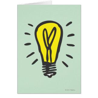 Compañía eléctrica tarjeta de felicitación