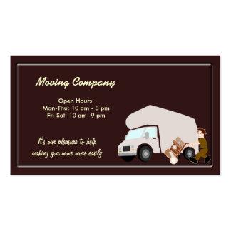 Compañía móvil tarjetas de visita