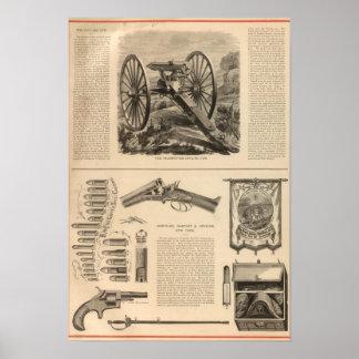 Compañía Schuyler, Hartley y Graham del arma de Ga Póster