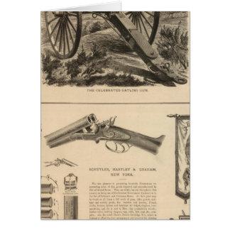 Compañía Schuyler, Hartley y Graham del arma de Ga Tarjeta De Felicitación