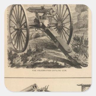 Compañía Schuyler, Hartley y Graham del arma de Pegatina Cuadrada