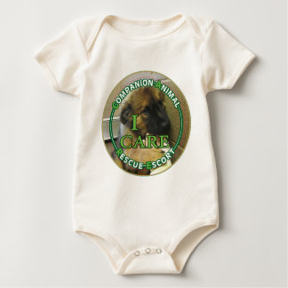 Companion Animal Rescue Escort (Transporter) Baby Bodysuit