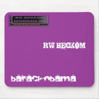 company%20logo, Barack Obama, RW BECKOM Mousepad