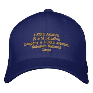 Company A 1 / 1376th Aviation Embroidered Baseball Caps