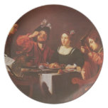 Company at the table by Nicolas Tournier Party Plates