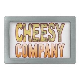 Company Blue Cheesy Belt Buckle