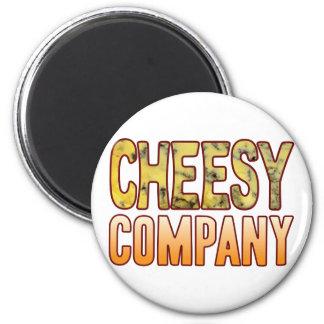 Company Blue Cheesy Magnet