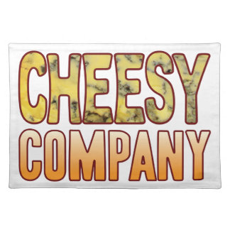 Company Blue Cheesy Placemat