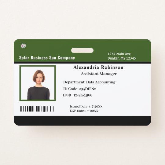 Dating badge ID