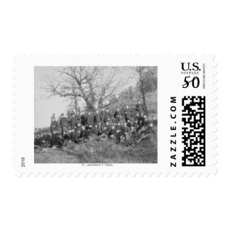 Company C, 3rd US Infantry at Fort Meade Postage