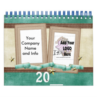 Company Calendar Add your Logo on each page