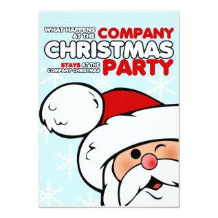 Company Christmas Party Invitations at Zazzle