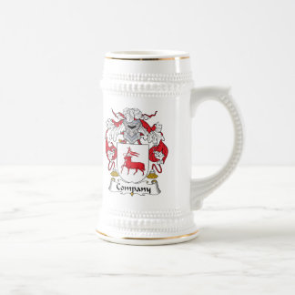 Company Family Crest Beer Stein