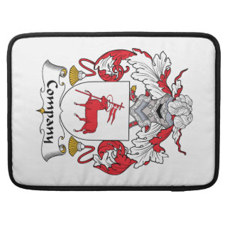 Company Family Crest Sleeve For MacBook Pro