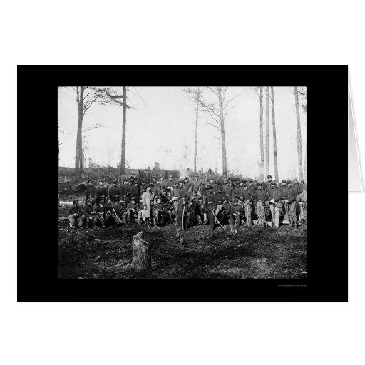Company K, 1st U.S. Cavalry Corps 1864 Greeting Card