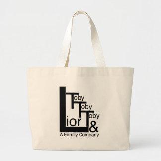 Company Logo.jpg Large Tote Bag
