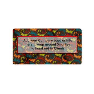 Company Logo Smartie Candy wrappers Labels