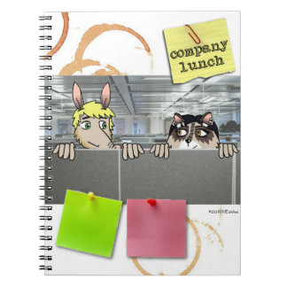 Company Lunch 80-Page Notebook