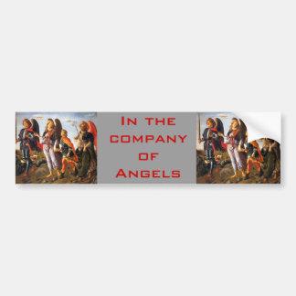 company of Angels bumper sticker Car Bumper Sticker