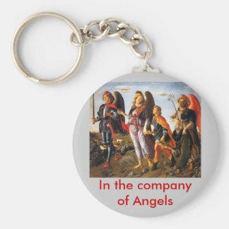 company of Angels keychain