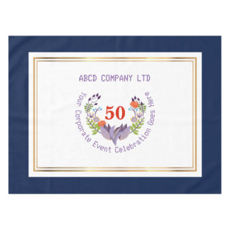 company or family party custom color tablecloth