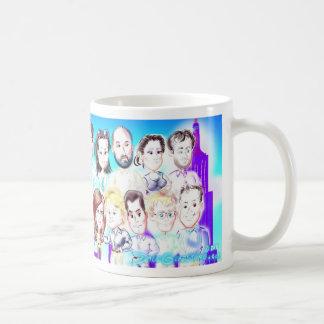 Company Picnic Caricatures Mug 11