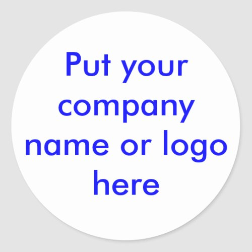 Company Promo Sticker