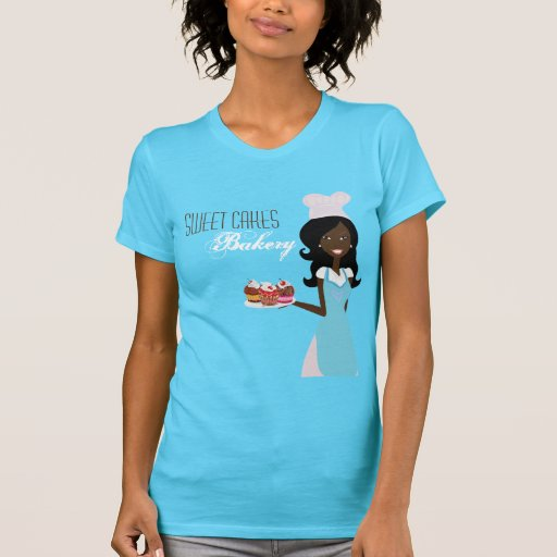 Company T-Shirt African American Baker Cup Cakes
