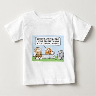 company wheel caveman baby T-Shirt