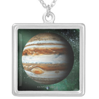Comparación de Júpiter y de la tierra Grimpola