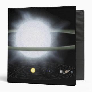 Comparación del tamaño de una estrella hypergiant