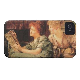 Comparaciones de Lawrence Alma-Tadema Funda Para iPhone 4