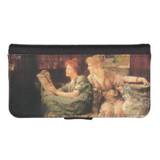 Comparaciones de Lawrence Alma-Tadema Fundas Billetera De iPhone 5