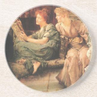 Comparaciones de Lawrence Alma-Tadema Posavasos Manualidades