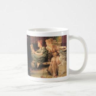 Comparaciones de Lawrence Alma-Tadema Taza Básica Blanca