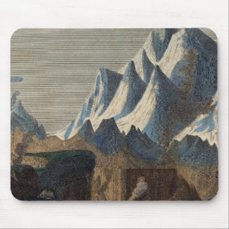 Comparative Height of the Principal Mountains Mouse Pad