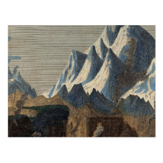 Comparative Height of the Principal Mountains Postcard