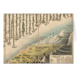 Comparative Heights of the Principal Mountains Greeting Card
