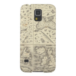 Comparative Size of Lakes and Islands Galaxy S5 Cover