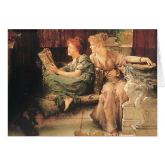 Comparisons by Lawrence Alma-Tadema Card