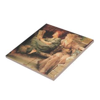 Comparisons by Lawrence Alma-Tadema Ceramic Tile
